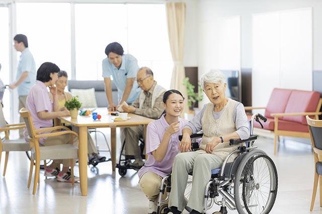 介護職の介助について